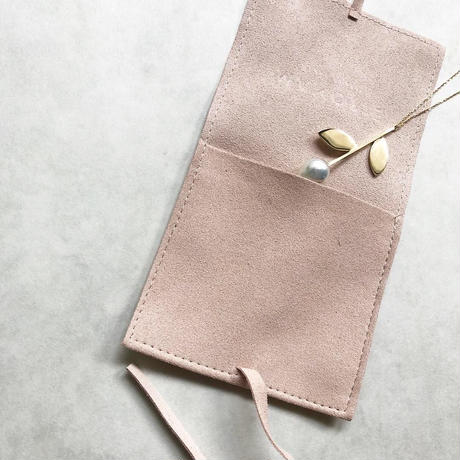 Travel jewelry pouch