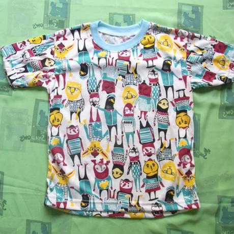 動物キャラ柄Tシャツ