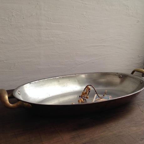 銅楕円なべ