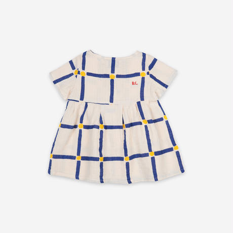 """【 BOBO CHOSES 21SS 】Cube All Over Buttoned Dress(121AB069)""""ワンピース"""""""