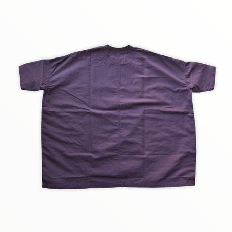 【 nunuforme 2020AW 】サイドテープワンピース [38-nf14-433-015] / Purple