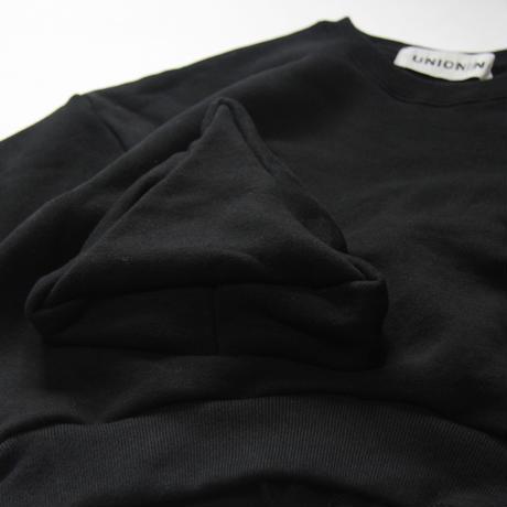 """【 UNIONINI 21AW 】◯△ sweat shirt / TR-020 """" スウェット """"  / black / 1 - 12歳"""