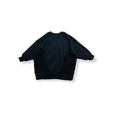 【 nunuforme 21AW 】フロント&バックトレーナー / 53-nf16-838-608A / Black / レディース