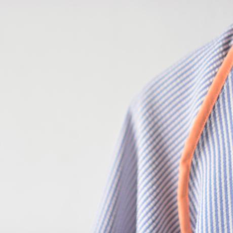 【 MOUN TEN. 2020SS 】sheersucker jacket [MT201012-a]  / stripe