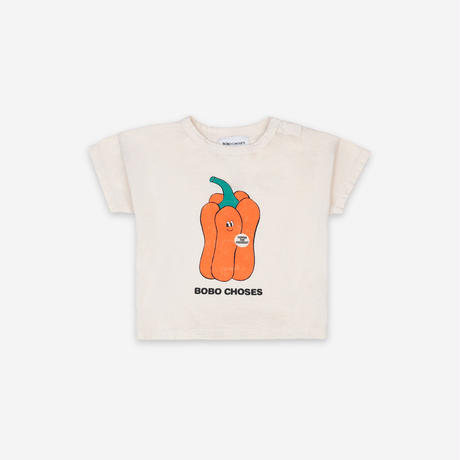 "【 BOBO CHOSES 21SS 】Vote For Pepper Short Sleeve T-shirt(121AB004)""Tシャツ"""