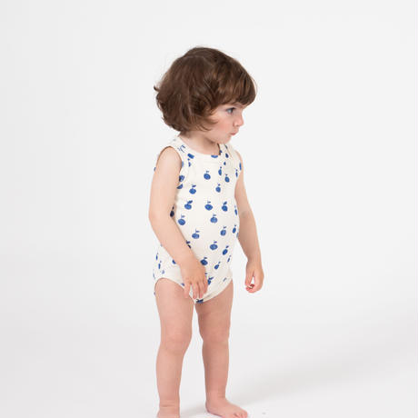 【 Bobo Choses 2019SS 】119166 Apples Tank Body / 6-12m
