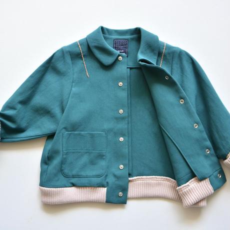 """【 ミナペルホネン 21AW 】ZA2041P bonbon """"アウター"""" / green / 90-100cm"""
