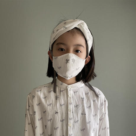 "【 GRIS 21SS 】MASK ""hope garden"" / 大人サイズ"