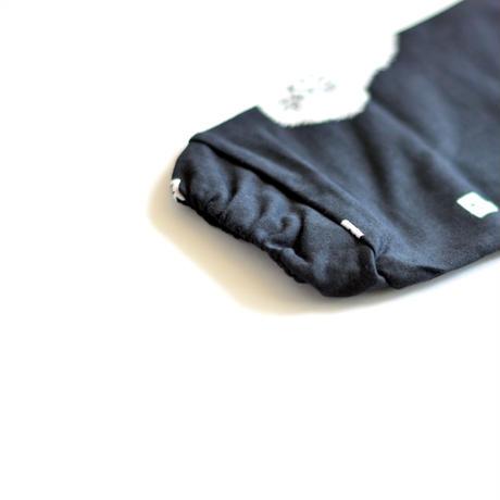 """【 ミナペルホネン 19AW 】XA8021P trois   """"カットソー"""" / black  / 110-140cm"""