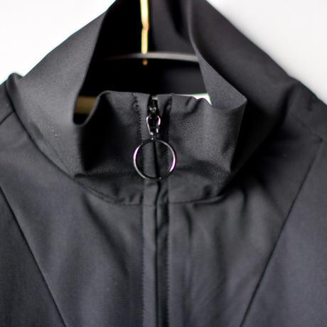 【 MOUN TEN. 2020SS 】ice stretch track jacket [MT201038-a] / black