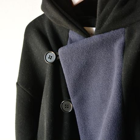 【 nunuforme 2019AW 】nf12-943-571 パーカージャケット / Black