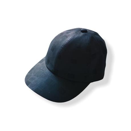 "【 franky grow 21SS 】ORIG. CHECK CAP [21SBB-228] "" キャップ "" / BLACK-BLACK"