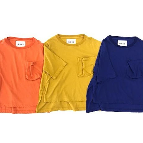 【 GRIS 2019SS 】Big T-Shirts / Orange / M-L