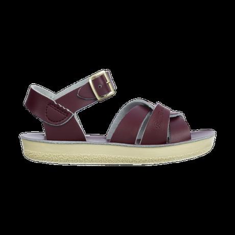 """【 Saltwater Sandals 】 海でも履けるソルトウォーターサンダル  """"Swimmer""""  / クラレット / 20 - 22.5cm"""