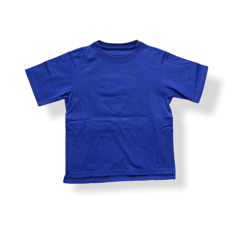 """【 GRIS 21SS 】""""Policy name"""" Big T-Shirt [GR21SS-CU003] """"Tシャツ"""" / ROYAL / S-L"""