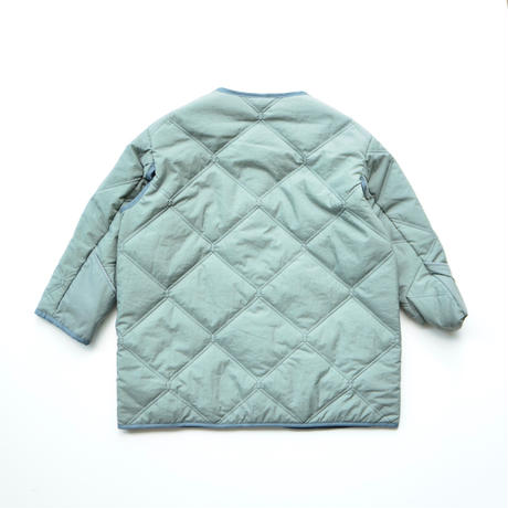 "【 MOUN TEN. 20AW 】quilt mitten coat  [MT202035] "" コート ""  / ashgreen /0(150-160)"