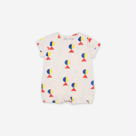 """【 BOBO CHOSES 21SS 】Geometric All Over Playsuit(121AB036)""""ロンパース"""""""