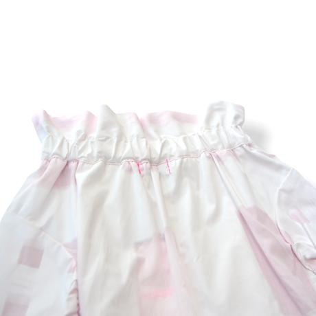 "【 franky grow 21SS 】ORIG. CHECK MIX SKIRT [21SBT-237] "" スカート "" / WHITE-PINK / レディース"