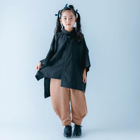 【 nunuforme 21SS 】ヘムタックカーブパンツ [15-nf15-618-129A] / Beige / レディース