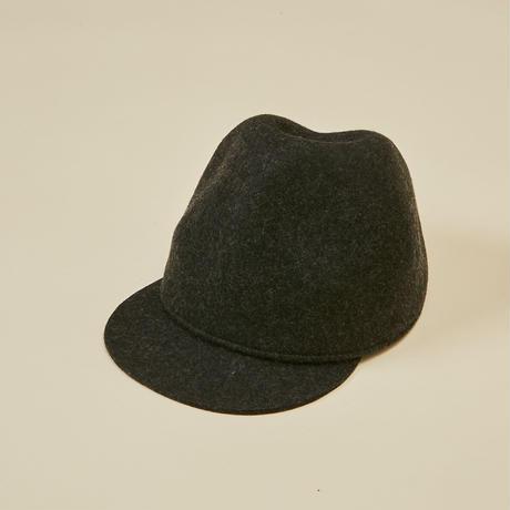 """【 MOUN TEN. 21AW 】mountain cap """" 帽子 """" / チャコール"""