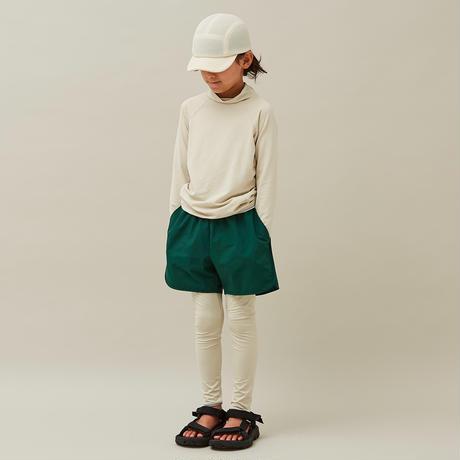 """【 MOUN TEN. 21SS 】board shorts  [21S-MP52-0942b] """"パンツ"""" / green / 0(150-160)"""