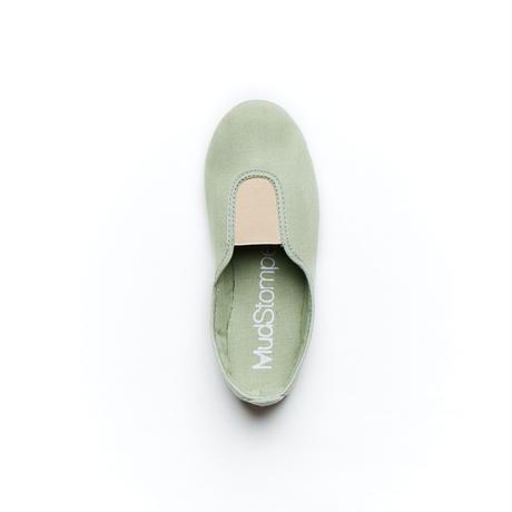 "【 La Cadena 21SS 】 GIMNASIA ""スリッポン"" / MINT GREEN ×  SAND BEIGE / 17〜21cm"