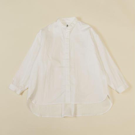 """【 MOUN TEN. 21AW 】80/1 washer big shirts """"シャツ"""" / ホワイト / 1(Ladies F  )"""
