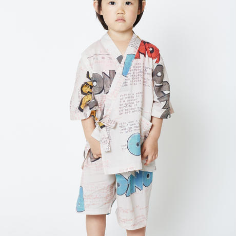 "【 WOLF & RITA 2020SS 】20SS JINBEI KIDS "" 甚平 "" / BONZO"