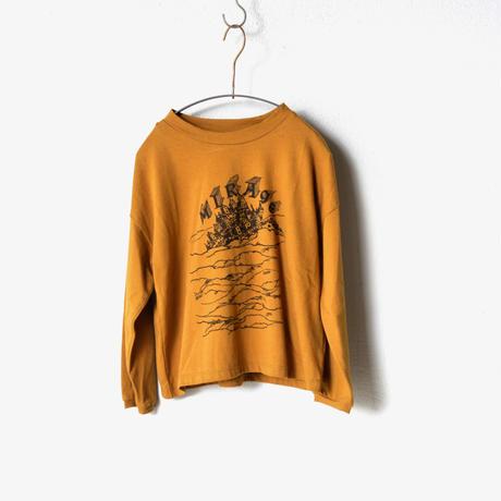 "【 eLfinFolk 20AW 】MIRAgE town long sleeve-T(elf-202J01)""カットソー"" / mustard  / size 110-130"