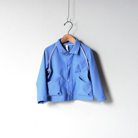 【 MOUN TEN. 2020SS 】sheersucker jacket [MT201012-a]  / blue