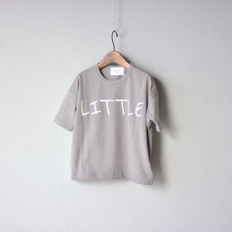 【 nunuforme 2020SS 】littleプリントT [nf13-898-500A] / Gray