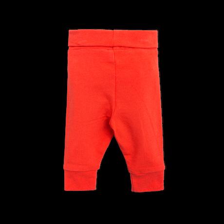 【 mini rodini 2017AW】BASIC NB LEGGINGS / 62cm / Red
