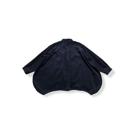 【 nunuforme 21AW 】サークルシャツ / 11-nf16-545-133A / Navy / レディース