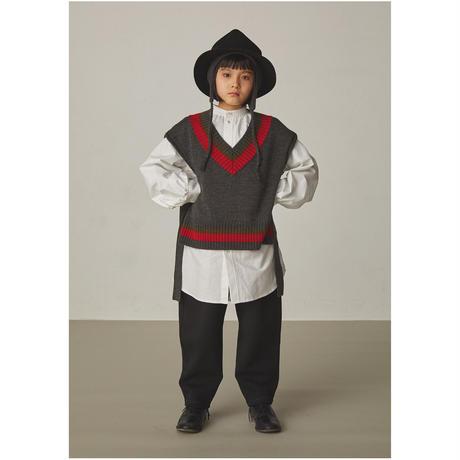 "【 GRIS 21AW 】 Tapared Pants ""パンツ"" / Kuro / size XL(135-150)"