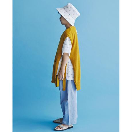 """【 GRIS 21SS 】""""cotton Satin"""" Hem Darts Trousers [GR21SS-PT003B] """"パンツ"""" / Sax Blue / S-L"""