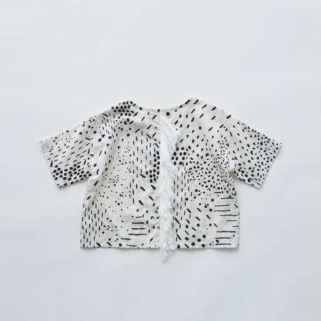 "【 eLfinFolk 21SS 】QiLin T shirts(elf-211F04)""Tシャツ"" / white / 90-130"