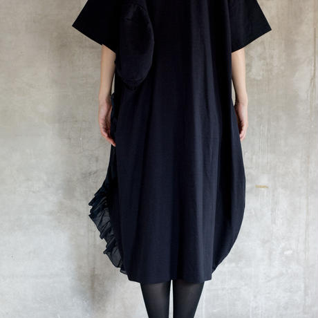 【 UNIONINI 2019SS 】OP-056 ◯△ long dress (M) / Navy  / レディース