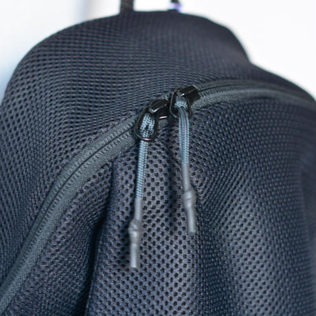 【 MOUN TEN. 2020SS 】double russell mesh daypack 10L [MT201019] / black
