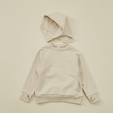 """【 MOUN TEN. 21AW 】separate hoodie """"パーカ"""" / エクル / 1(Ladies F  )"""
