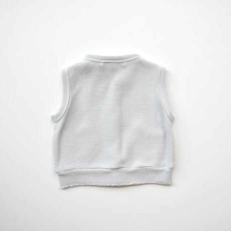 """【 ミナペルホネン 20AW 】YA8104P  makea """" ベスト""""  / light gray / 80cm"""