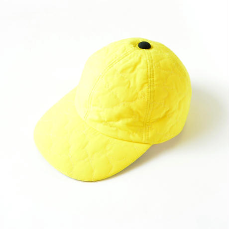 "【 franky grow 20AW 】BEAR QUILTING CAP [20FWBB-226] "" 帽子 "" / YELLOW"