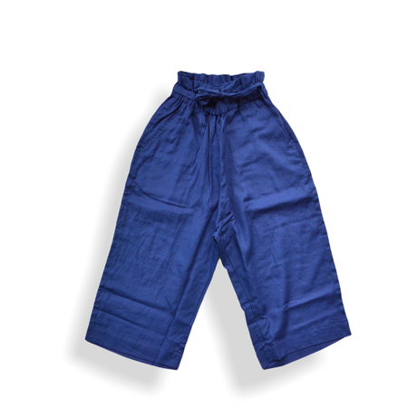 "【 UNIONINI 21SS 】PT-065 linen big pants  "" パンツ ""  / blue / 大人サイズ"