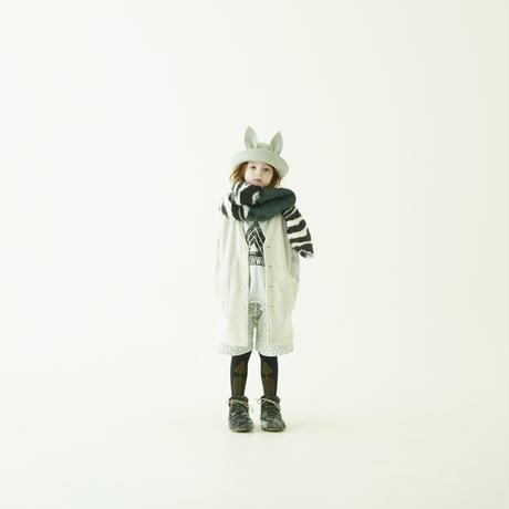 "【 eLfinFolk 21AW 】 Beast HAT by CA4LA(elf-212A08) ""帽子""  / light gray"