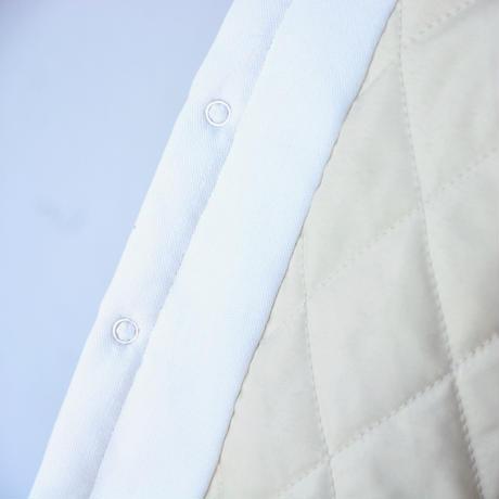 """【 ミナペルホネン アーカイブ 】XA6062P tambourine   """"コート"""" / white / 90-100cm"""