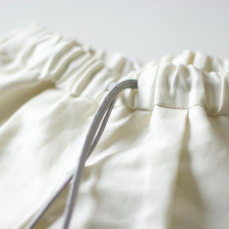 "【 MOUN TEN. 21SS 】C/L moleskin fatigue shorts [21S-MP51-0921a] ""パンツ"" / ecru /  95-140"