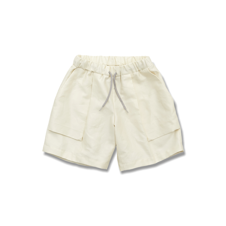 "【 MOUN TEN. 21SS 】C/L moleskin fatigue shorts [21S-MP51-0921c] ""パンツ"" / ecru / 1(Ladies F  )"
