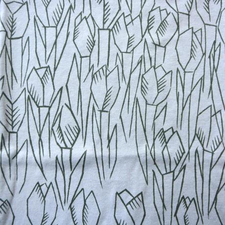 """【 ミナペルホネン 21SS 】ZS8112P tulipani """" カットソー""""  / light blue / 80-100cm"""