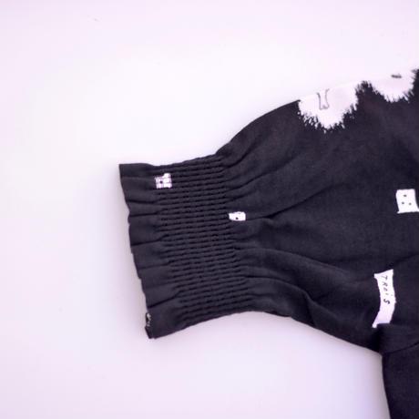 """【 ミナペルホネン 19AW 】XA8023P trois   """"ワンピース"""" / black  / 110-140cm"""