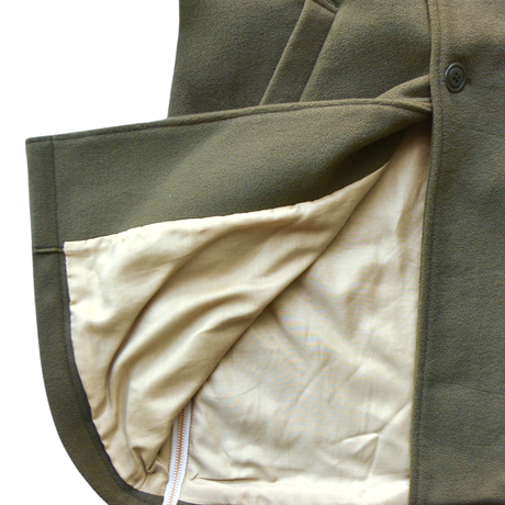 """【 GRIS 20AW】GR20AW-CO001B  Stainless Collar Coat """"コート"""" / Moss / S(100-120)"""