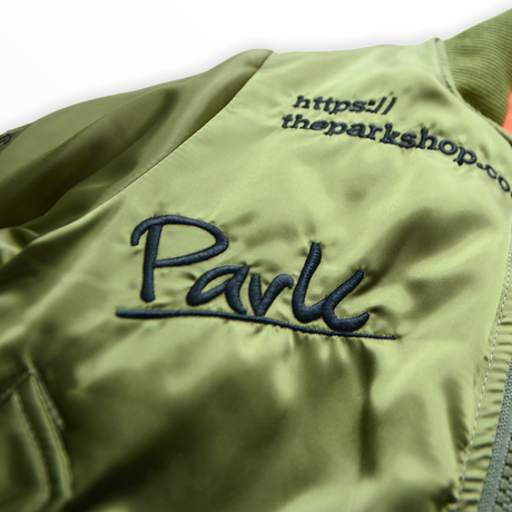 """【 THE PARK SHOP 20AW 】PARK MA-1 JACKET(TPS-324) """"アウター"""" / olive"""